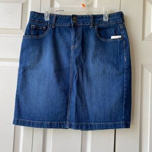 Old Navy ladies jeans skirt